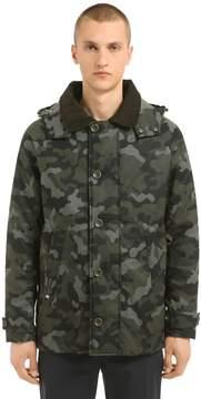Henri Lloyd Limited Consort Camo Waxed Nylon Jacket