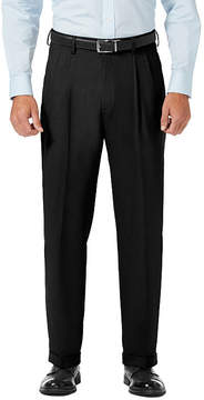 Haggar Jm Dress Pants Classic Fit Pleated Pants
