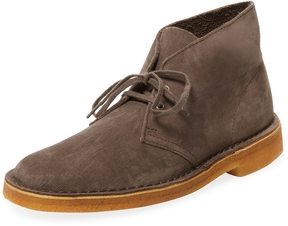 Clarks Men's Leather Lace Chukka Boot