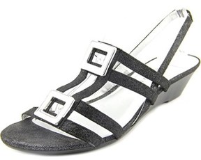 Karen Scott Serha Women Open-toe Canvas Slingback Sandal.