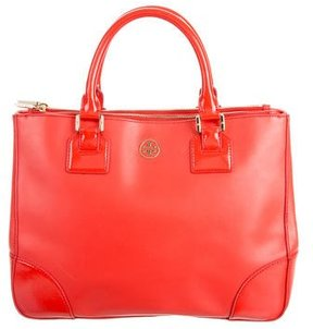 Tory Burch Large Robinson Double Zip Tote - ORANGE - STYLE