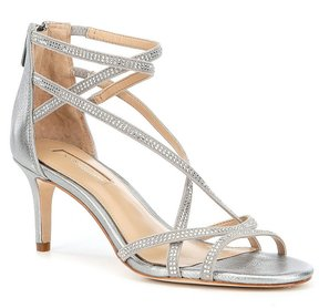 Antonio Melani Solmer Jeweled Leather Dress Sandals