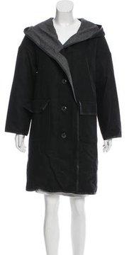 ADD Wool Hooded Coat w/ Tags