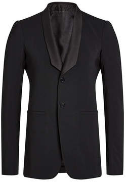 Rick Owens Tuxedo Blazer with Wool