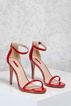 Forever 21 Patent Faux Leather Heels