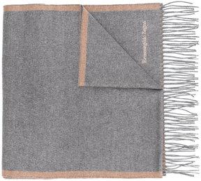Ermenegildo Zegna frayed scarf