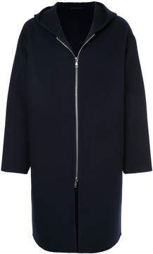 H Beauty&Youth hooded zip coat
