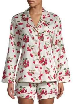 BedHead Two-Piece Printed Cotton Pajama Set