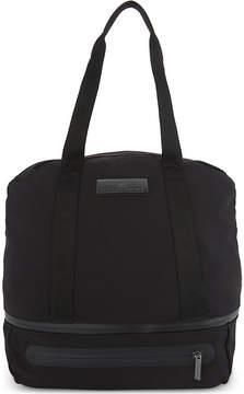 Adidas By Stella Mccartney Ladies Black Iconic Nylon Duffle Bag
