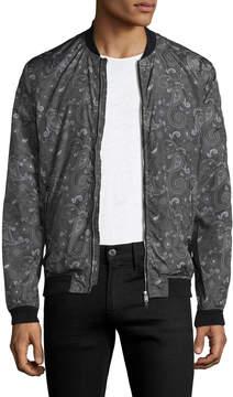 J. Lindeberg Men's Thom 63 Paisley Bomber Jacket