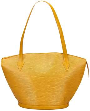 Louis Vuitton St Jacques leather tote - YELLOW - STYLE