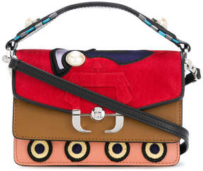 Paula Cademartori colour block shoulder bag