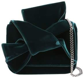 Small Velvet Knot Shoulder Bag