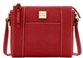 Dooney & Bourke Saffiano Lexington Crossbody Shoulder Bag - BURNT ORANGE - STYLE