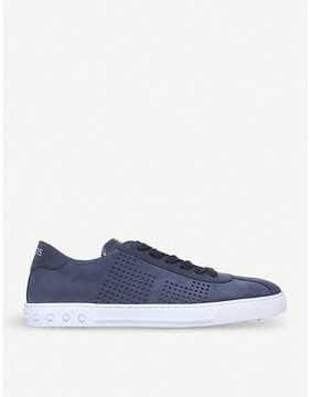 Tod's Tods Casseta suede trainers