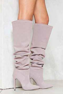 Nasty Gal nastygal Higher Power Vegan Suede Boot
