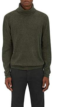 Barneys New York Men's Mélange Cashmere Turtleneck Sweater