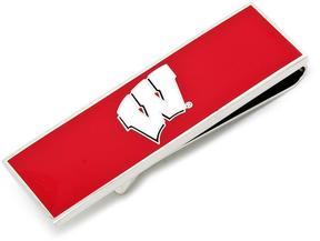 Ice University of Wisconsin Badgers Money Clip