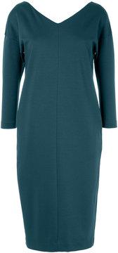 ESTNATION v-neck long-sleeved dress