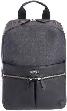 Royce Leather Power Bank Charging Luxury Backpack