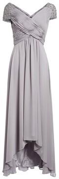 Eliza J Women's Embellished Pleated Chiffon Gown