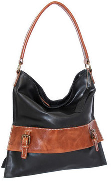Women's Nino Bossi Britt Leather Shoulder Bag
