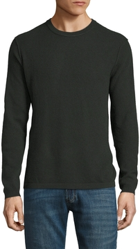 Autumn Cashmere Men's Thermal Cashmere Suede Patched Sweater