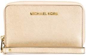 MICHAEL Michael Kors Zip Around Leather Wallet