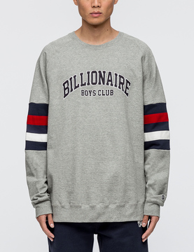 Billionaire Boys Club College Crewneck Sweatshirt