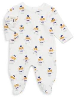 Fendi Baby's Printed Footie