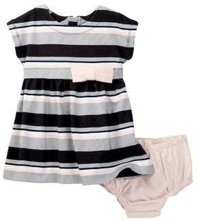 Kate Spade stripe dress & bloomer set (Baby Girls)
