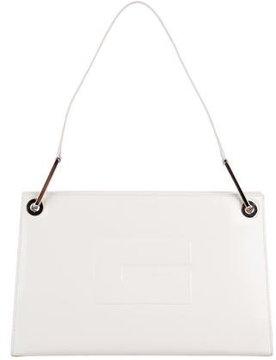 Gucci Spazzolato Shoulder Bag - WHITE - STYLE