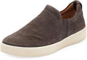 Vince Soren Washed Nubuck Slip-On Sneaker
