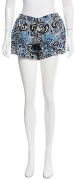 Calypso Linen Printed Shorts