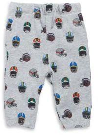 Stella McCartney Baby's Allover Helmet Print Cotton Sweatpants