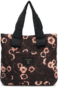 Marc Jacobs floral print shopping bag - BLACK - STYLE