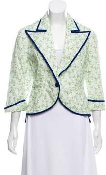 DELPOZO Tailored Lace Blazer w/ Tags