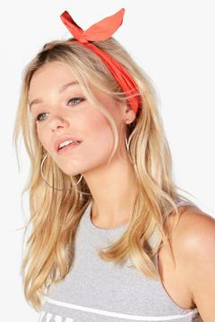 boohoo Megan Bend Tie Headscarf