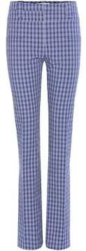 Altuzarra Serge plaid trousers