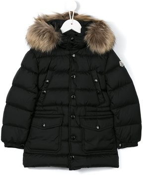 Moncler padded button-up coat