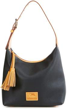 Dooney & Bourke Patterson Collection Paige Tasseled Hobo Bag - BLACK - STYLE