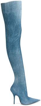 Balenciaga Knife over-the-knee boots