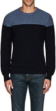 Luciano Barbera Men's Colorblocked Cashmere Sweater