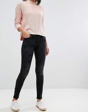Esprit Star Print Skinny Jeans