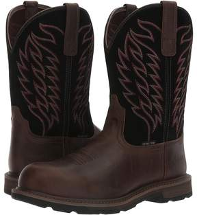 Ariat Groundbreaker Pull-On ST Cowboy Boots