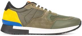 Givenchy paneled lace-up sneakers