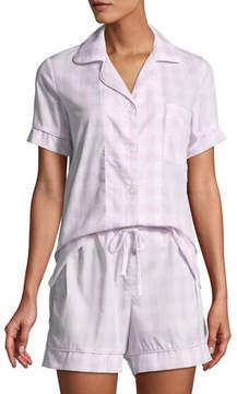 BedHead Tonal Gingham Shorty Pajama Set