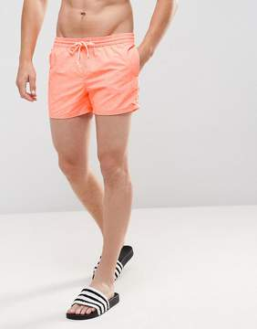 Pull&Bear Swim Shorts In Orange