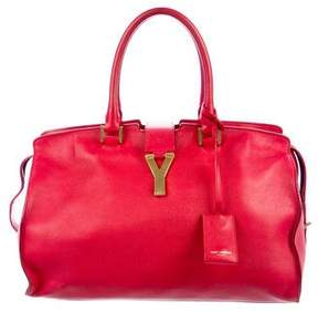 Saint Laurent Medium Leather Cabas Chyc Bag