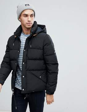 Penfield Bowerbridge Down Jacket Detachable Hood in Black